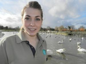 Nicola Hiscock, Conservation Breeding Assistant