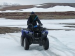 Nigel on a quad adventure